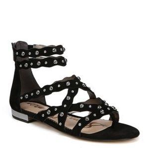 NEW Sam Edelman Daya studded suede sandal